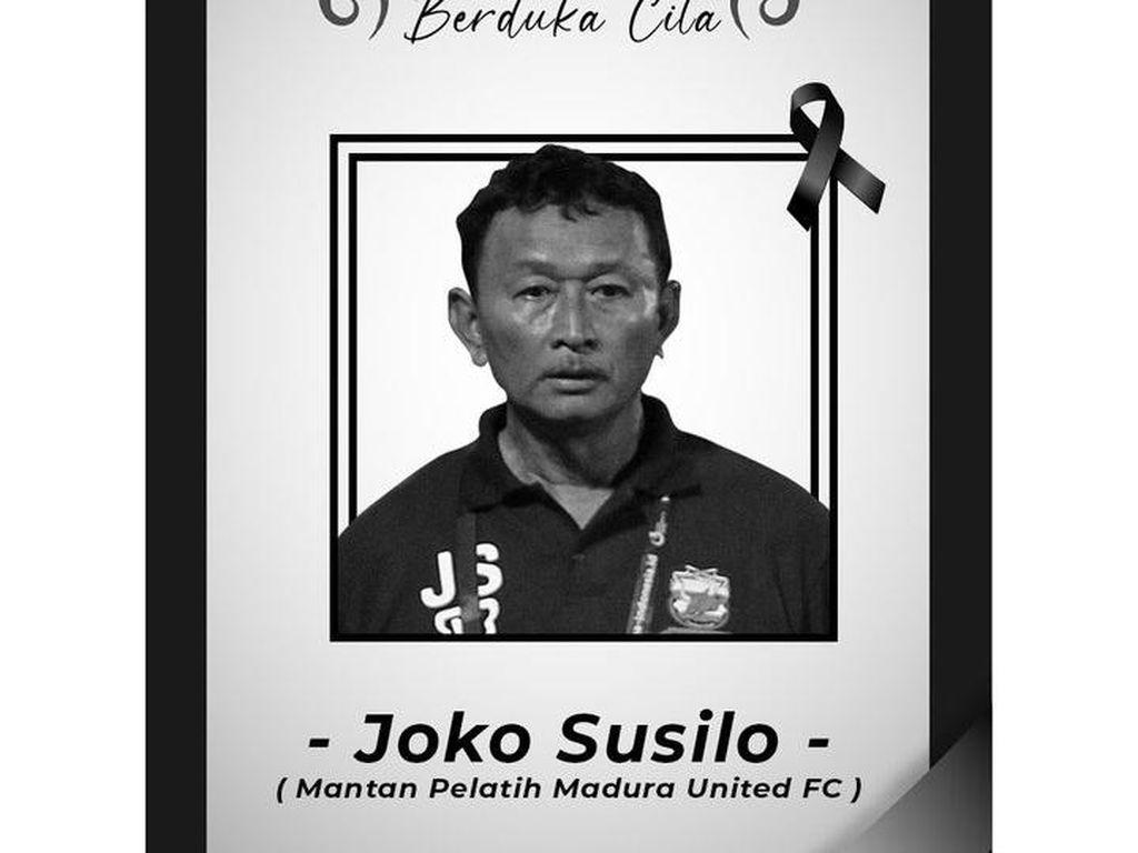 Berita Duka, Eks Pelatih Madura United Djoko Susilo Tutup Usia