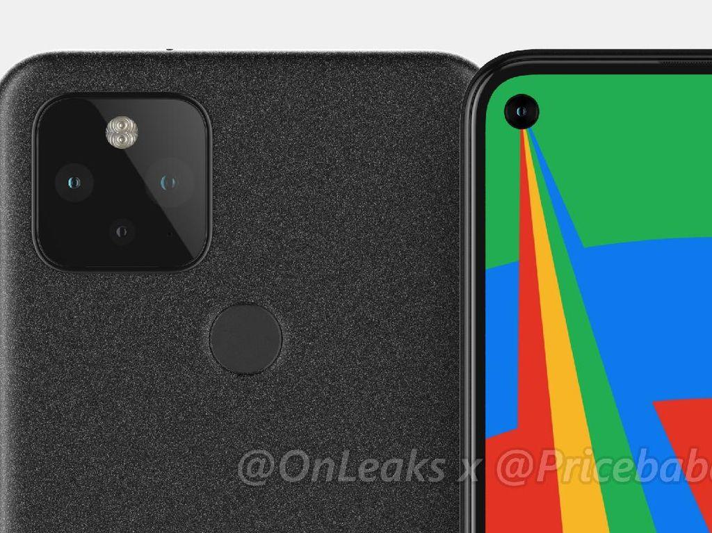 Bocoran Pixel 5: Dua Kamera Belakang dan Sensor Sidik Jari