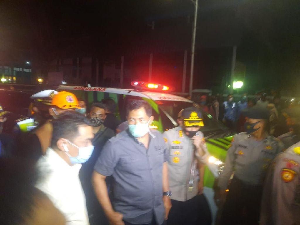 Kapolda Metro Jaya Cek Kebakaran di Gedung Kejaksaan Agung