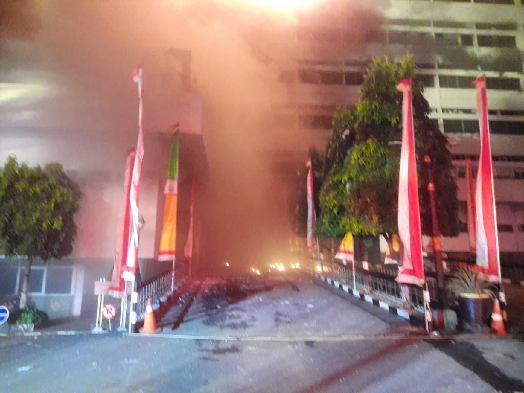 Gedung Kejagung Kebakaran, Jaksa Agung: Hari Libur Tidak Ada Pegawai