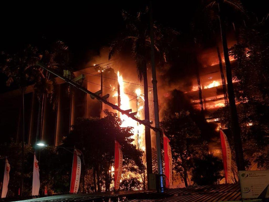 Penyebab Kebakaran di Gedung Kejaksaan Agung Diselidiki Polisi