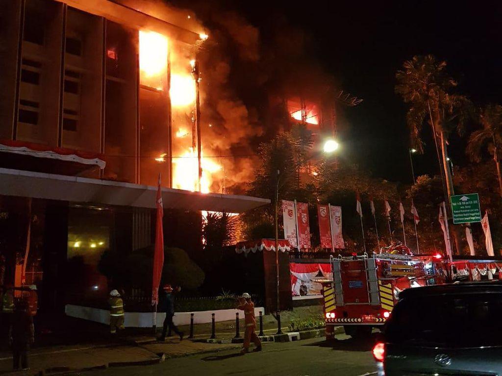 Wagub DKI: Api Cepat Menjalar, Beberapa Ruang Pimpinan Kejagung Terbakar
