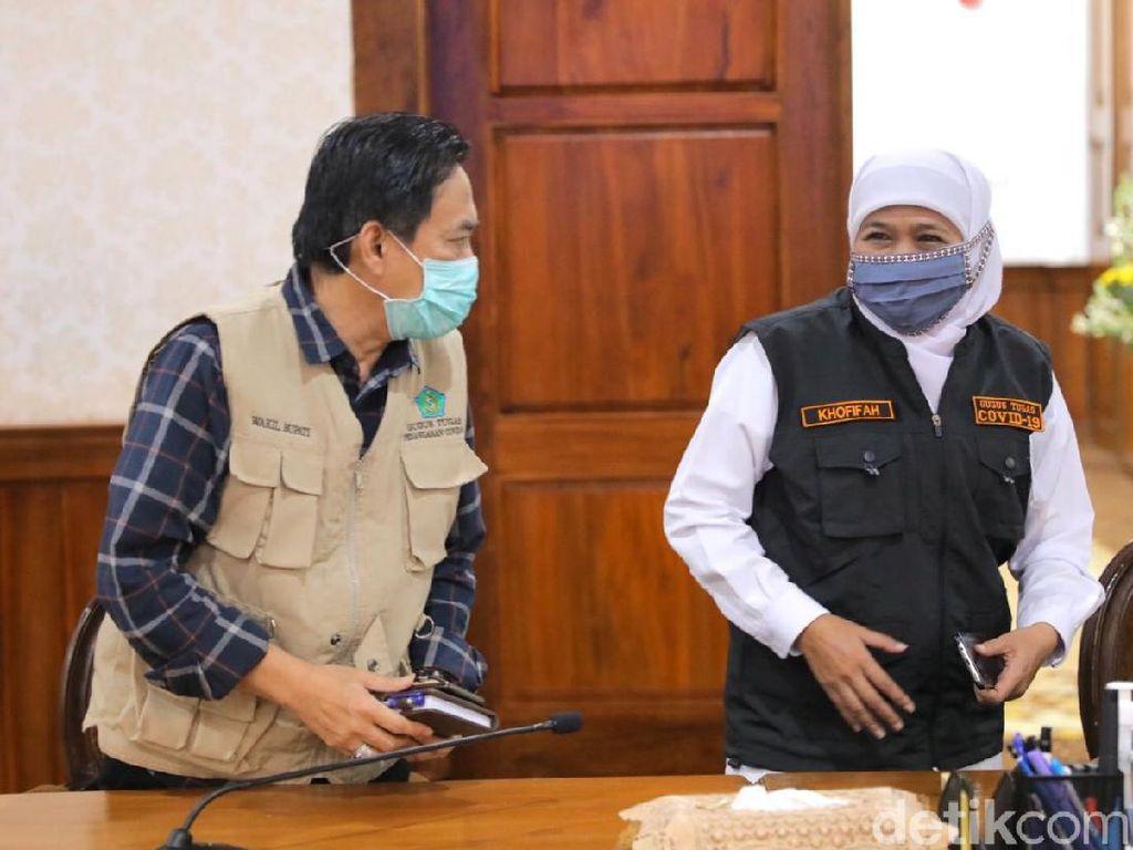 Plt Bupati Sidoarjo Wafat Akibat COVID-19, Khofifah Tunjuk Sekda Isi Kekosongan