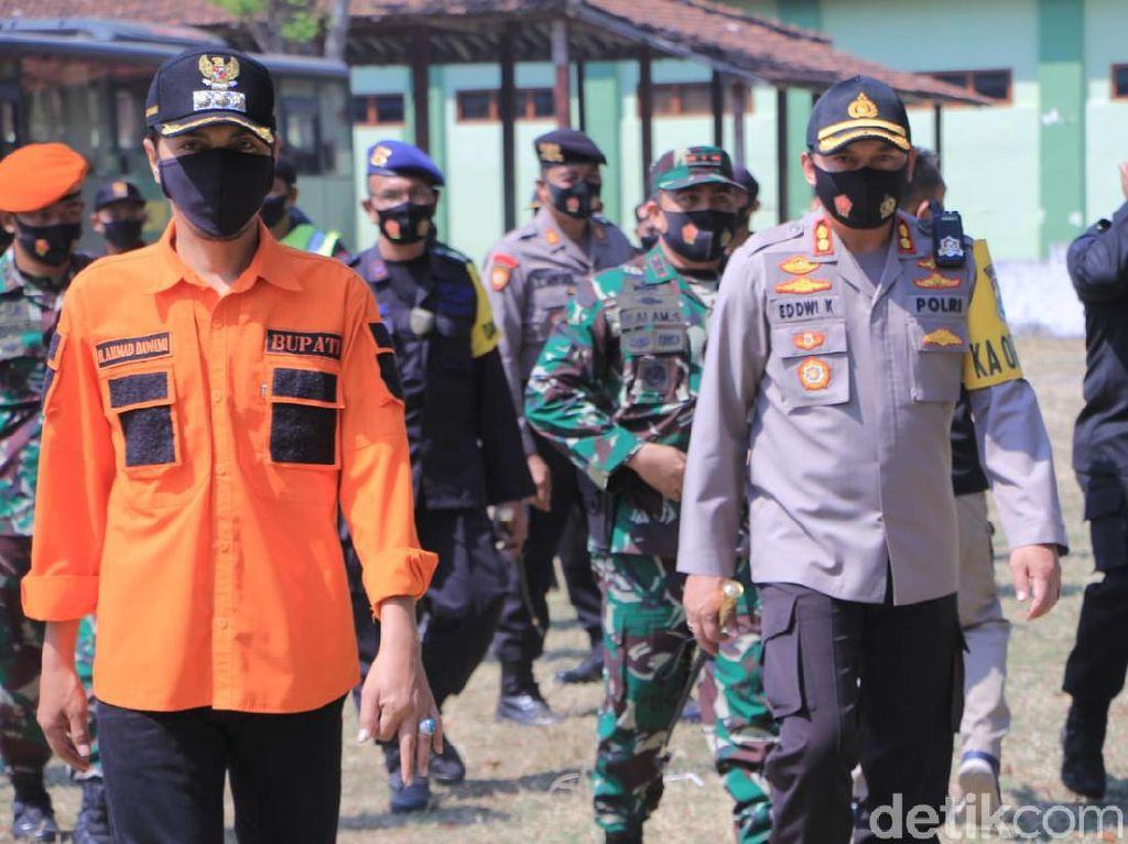 Personel Gabungan Siap Amankan Pengesahan Anggota Baru PSHT Madiun