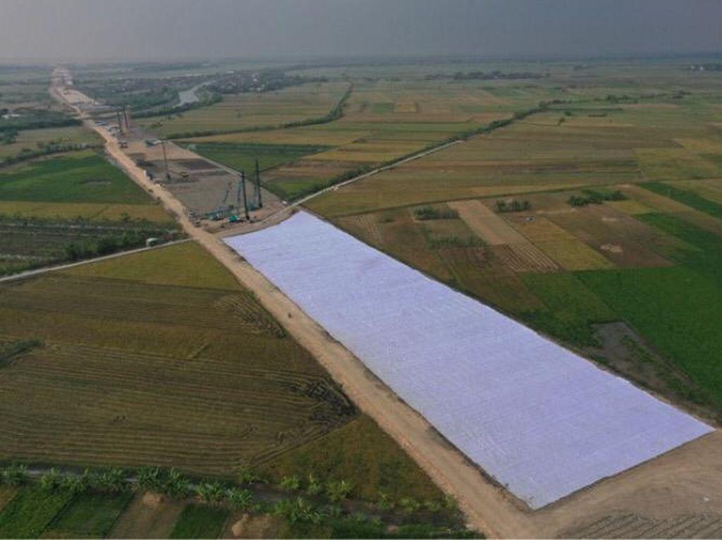 Mengintip Progres Proyek Tol Semarang-Demak