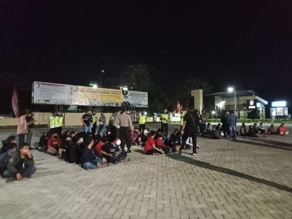 Puluhan Oknum PSHT Sempat Diamankan Karena Rusuh di Sidoarjo