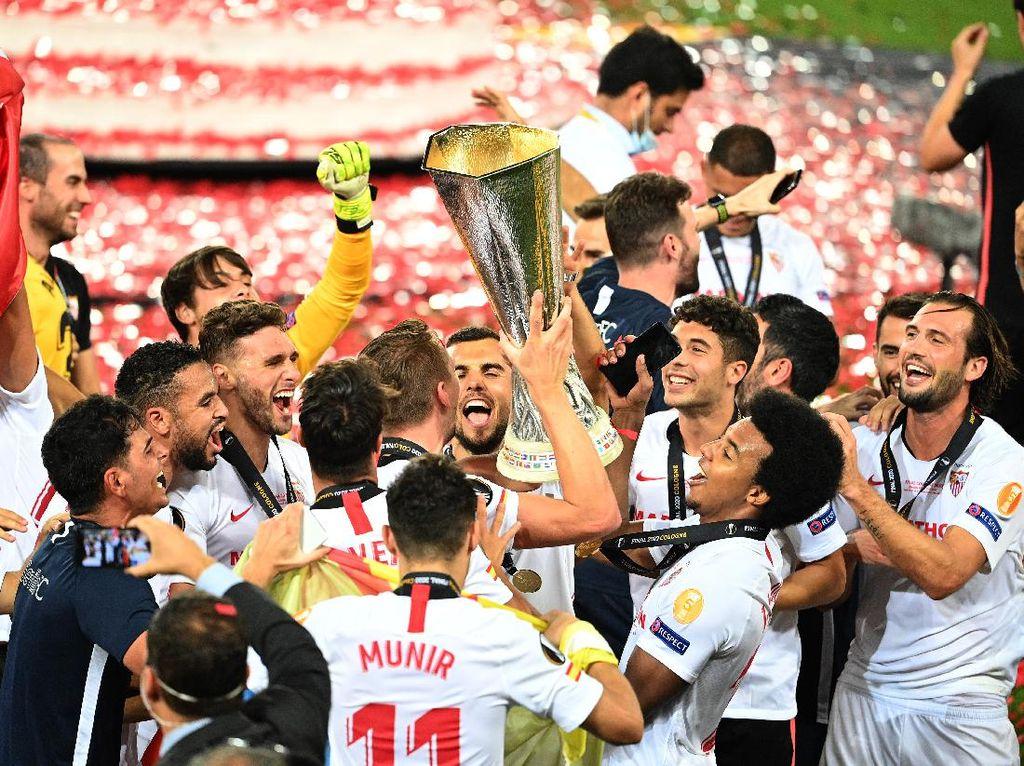 Juventus Ucapkan Selamat untuk Sevilla, Tanda Balas Dendam ke Inter?