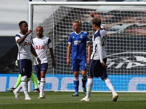 Laga Uji Coba: Tottenham Kandaskan Ipswich Town 3-0