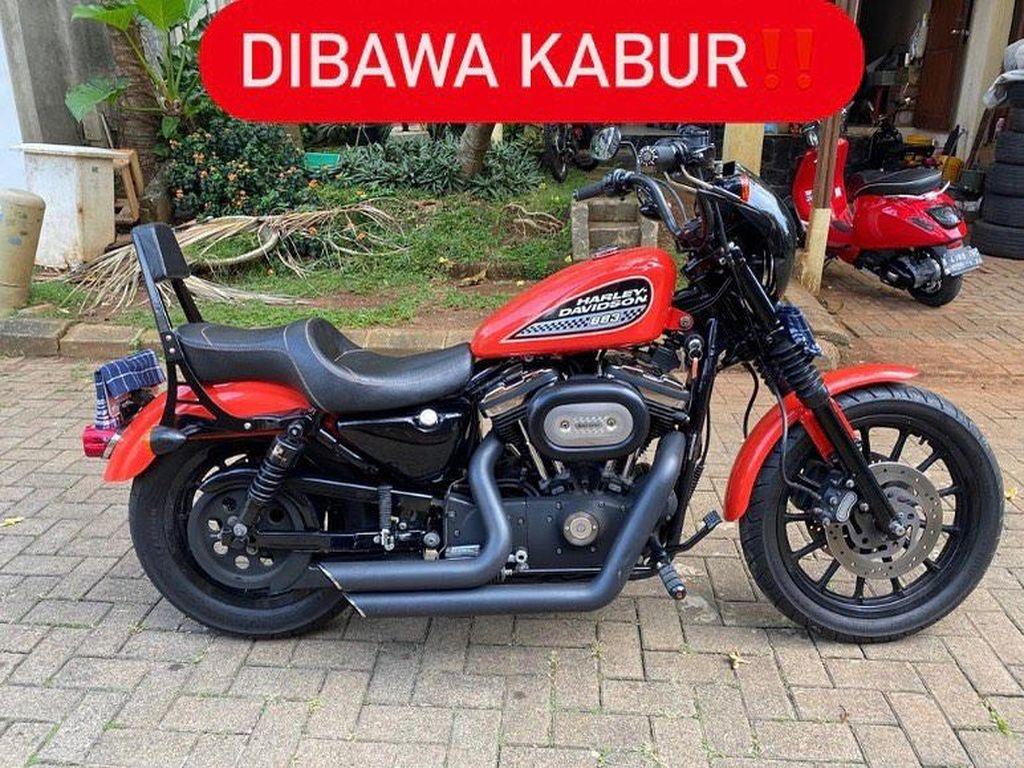 Cat Harley-Davidson yang Dicuri Diganti Hitam, Ini Penampakannya