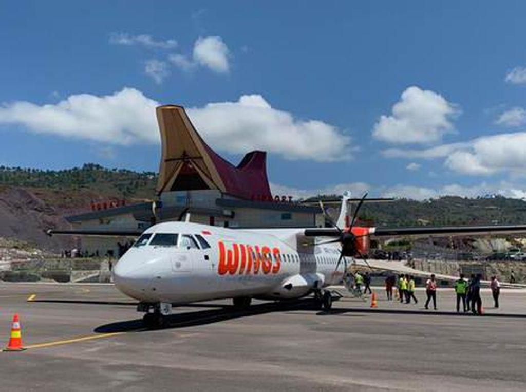 Mulai 4 September, Wings Air Resmi Terbang ke Tana Toraja