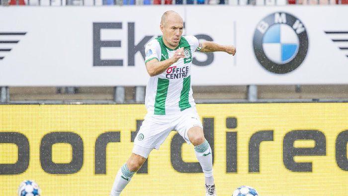 Arjen Robben melakukan comeback bersama FC Groningen saat bertemu Almere City di Almere, Belanda, Sabtu (22/8/2020) malam WIB.