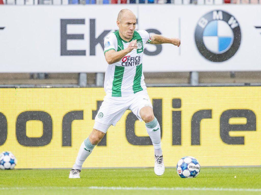 Comeback! Arjen Robben Beraksi Lagi di Lapangan