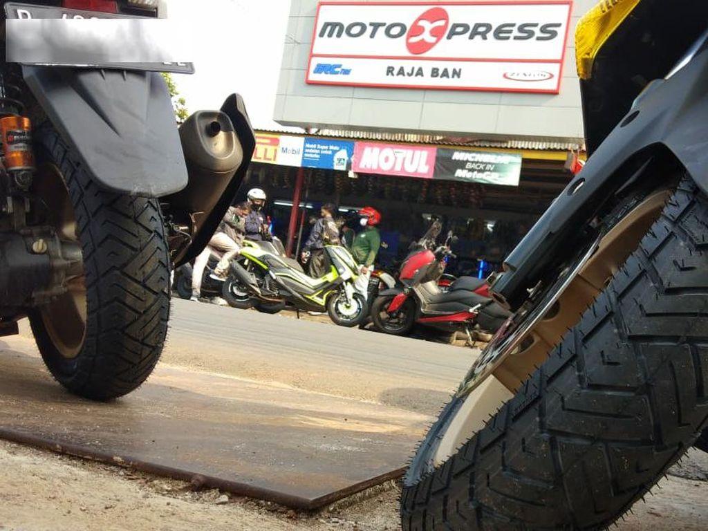 Ban Nmax Buatan Indonesia Jadi Incaran Bikers Luar Negeri