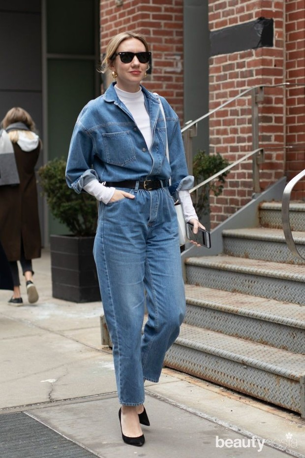 Gaya fashion dengan Denim