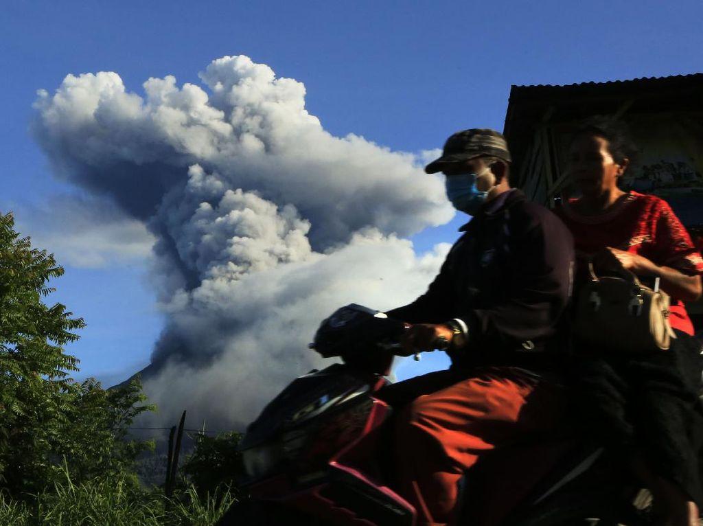 BPBD Harap Relokasi 169 KK Terdampak Erupsi Sinabung Segera Tuntas