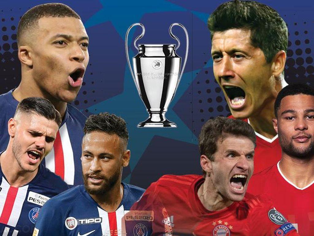 Final Liga Champions 2020 dalam Infografis