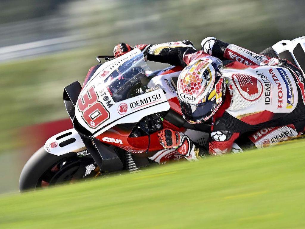 Hasil Latihan Bebas II MotoGP Teruel: Nakagami Tercepat, Honda Masih Dominan