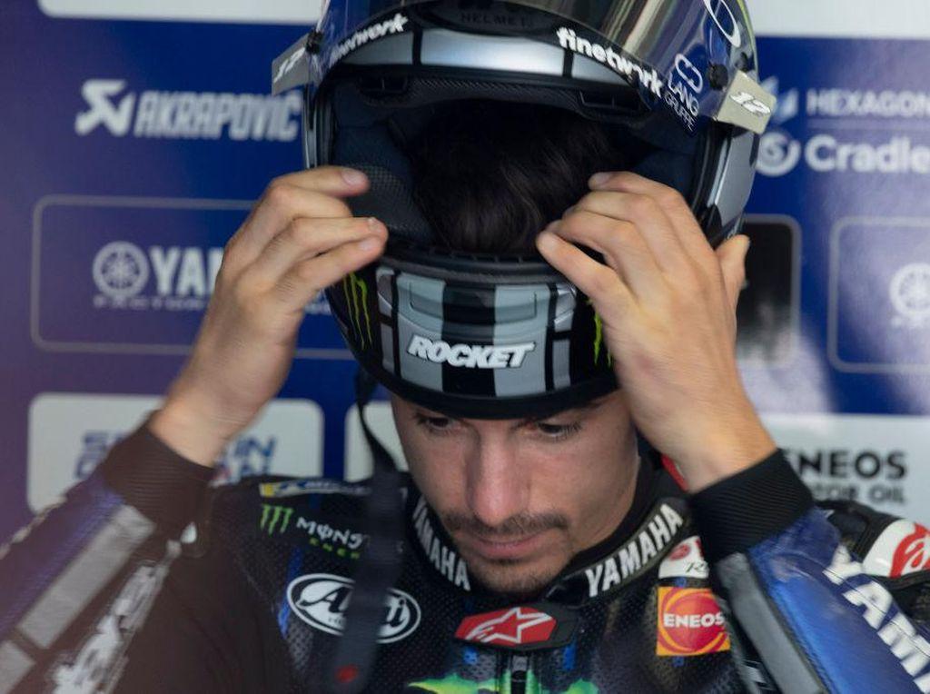 Frustrasinya Vinales pada Yamaha: Sudah 30 Balapan Motornya Masih Begitu-begitu Saja