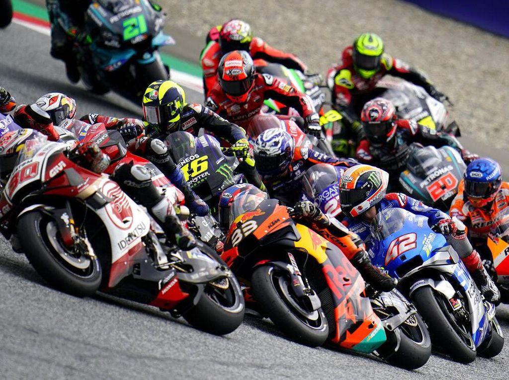 Start dari Posisi Ke-14, Rossi Finis Kesembilan di MotoGP Styria