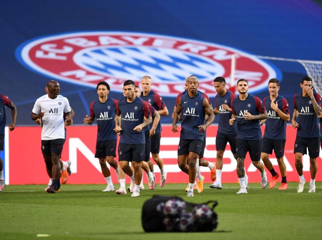 Final Liga Champions: PSG Hormati Bayern, Bukan Berarti Takut