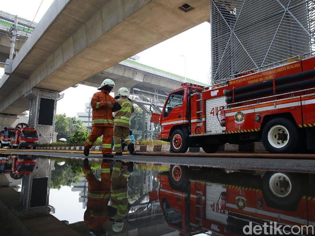 Robot Damkar Rp 37 M Tak Dipakai Saat Gedung Kejagung Terbakar, Ini Alasannya