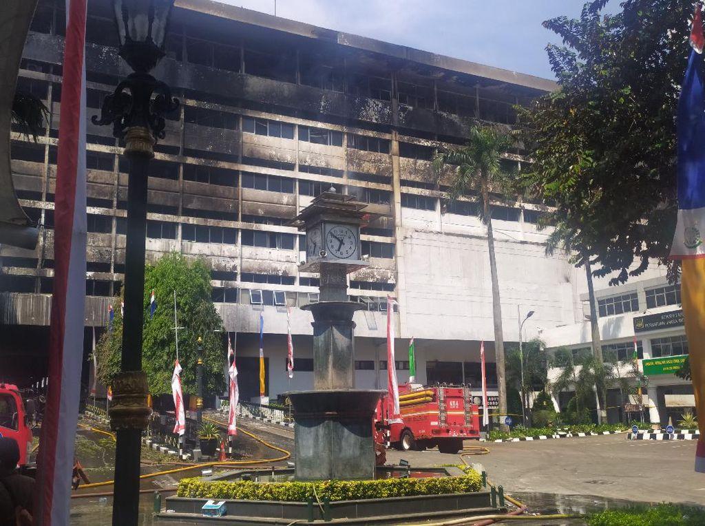 Kebakaran di Gedung Kejagung, Polisi Periksa 15 Saksi