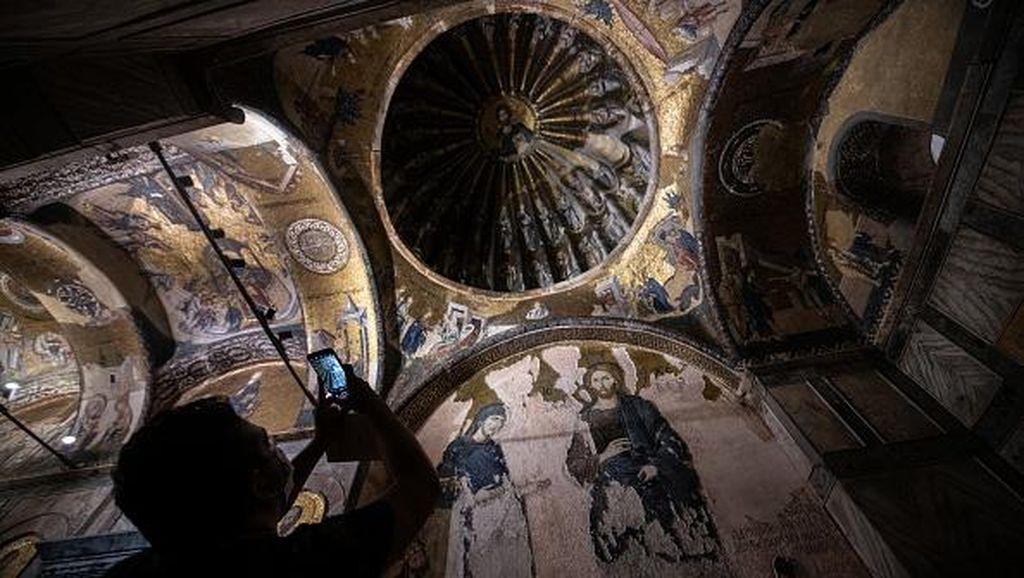 Potret Gereja Chora yang Kini Diubah Erdogan Menjadi Masjid