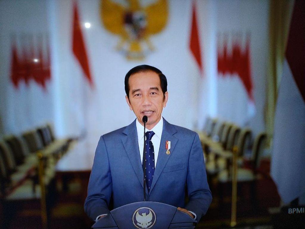 Jokowi Tepis Isu UU Cipta Kerja Hapus Amdal