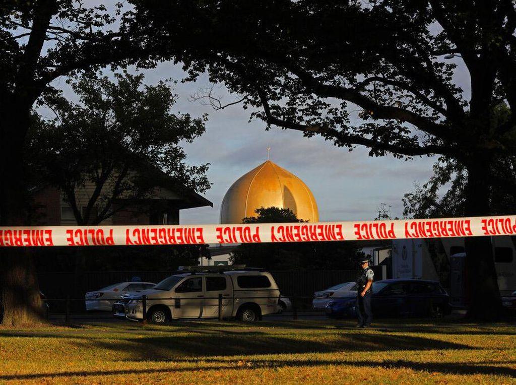 Ada Ancaman terhadap Masjid Selandia Baru, 2 Orang Ditangkap