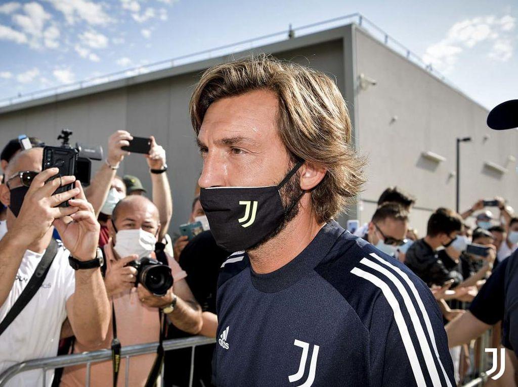 Yuk, Lihat Hari Pertama Pirlo Latih Juventus