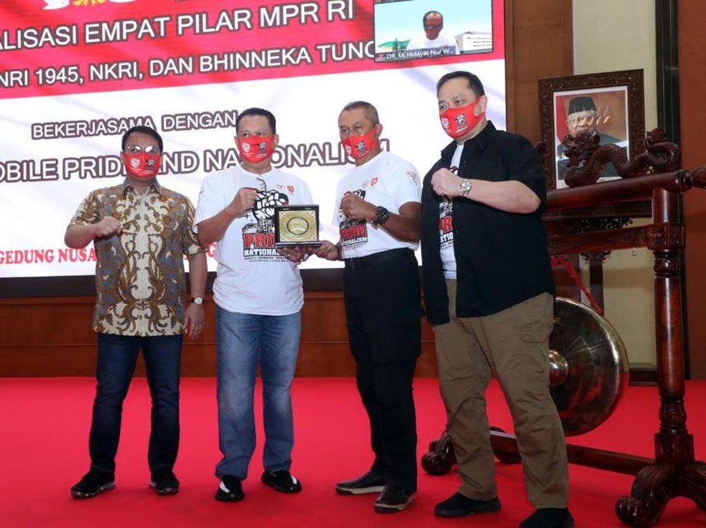 Ketua MPR Komunitas Otomotif Jadi Duta 4 Pilar dengan Brotherhood Kuat