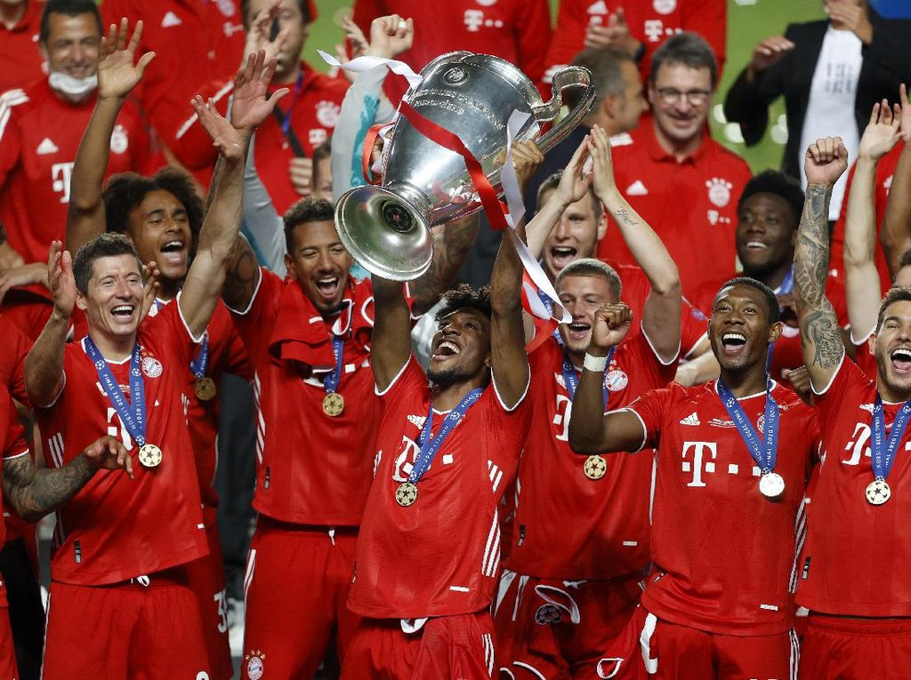 Coman: Dulu Dibuang PSG, Kini Bawa Bayern Juara Liga Champions
