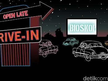 Sensasi Nonton Bioskop Drive-In