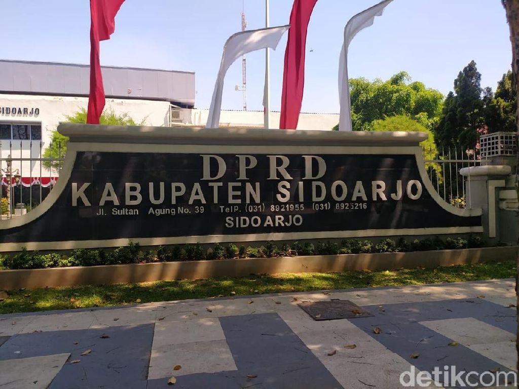 Plt Bupati Sidoarjo Meninggal, Penyemprotan Disinfektan di Pemkab DPRD Diintensifkan