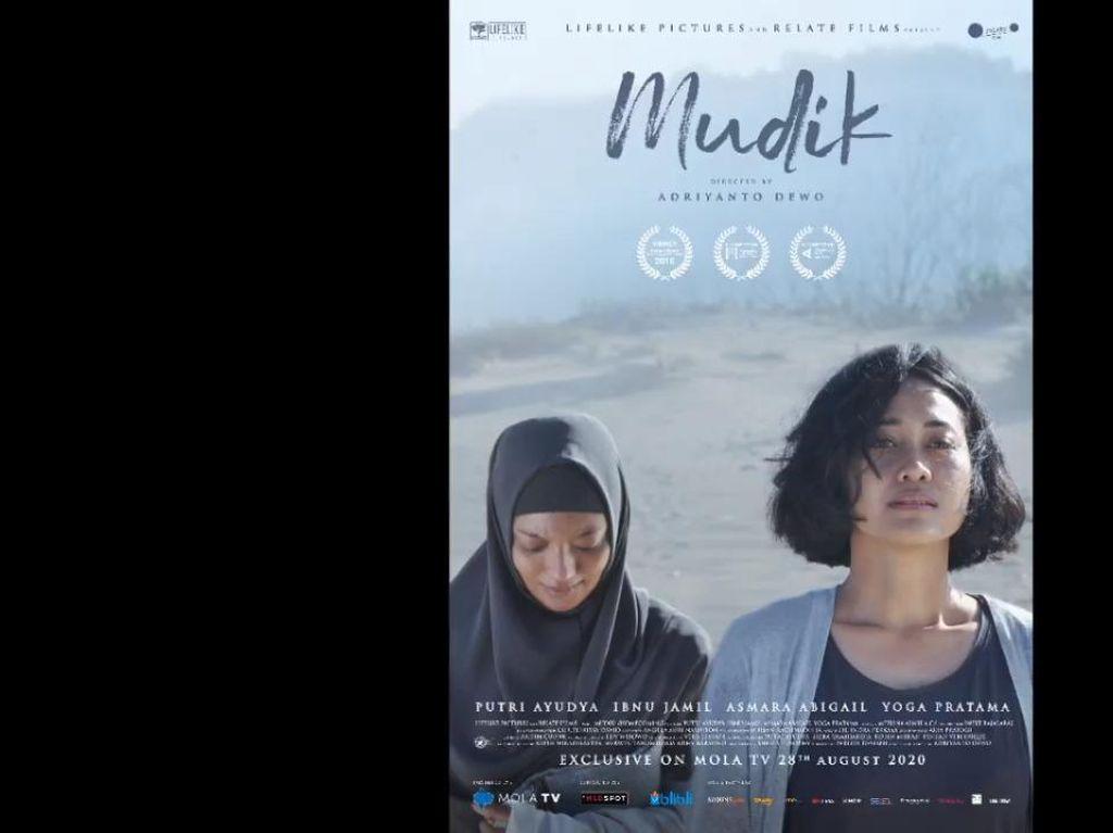 Film Mudik Dibintangi Ibnu Jamil dan Putri Ayudya Tayang Hari Ini