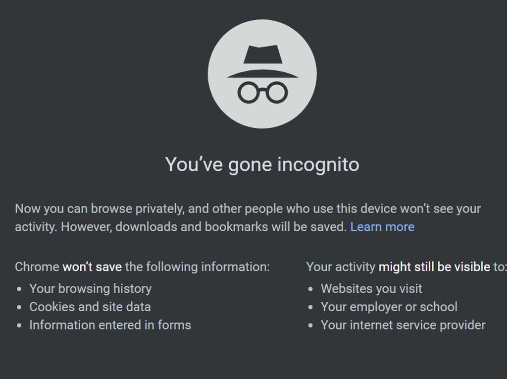 3 Manfaat Pakai Google Incognito