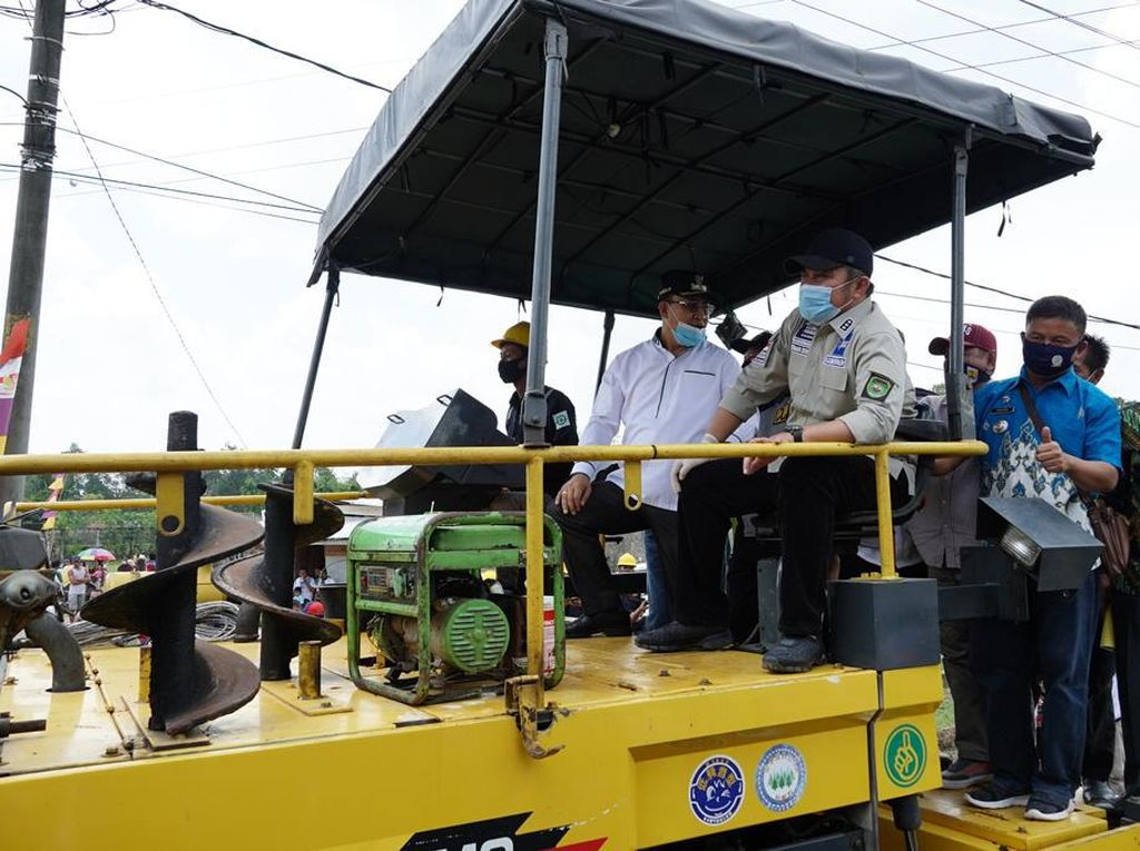 Gubernur HD Gelontorkan Dana Rp 81 M untuk Bangun Muara Enim
