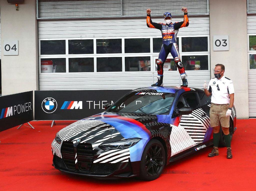 Juara MotoGP Styria, Miguel Oliveira Dapat BMW M4 Terbaru