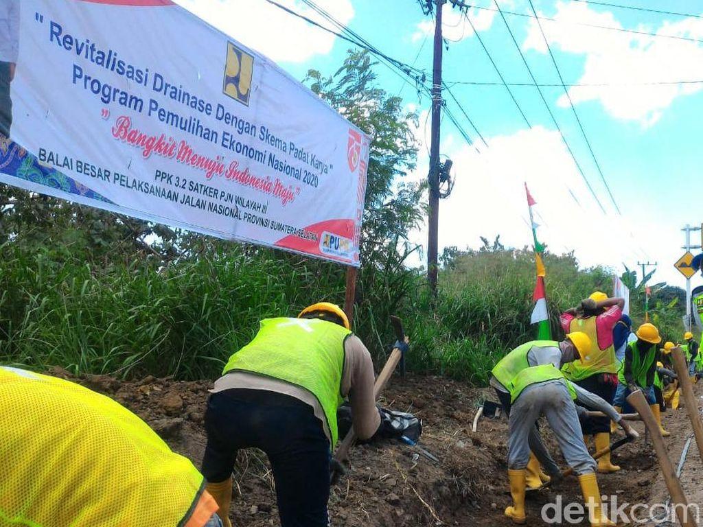 Perbaikan Drainase di Sumsel Rp 30 Miliar, Libatkan Warga Terdampak Corona