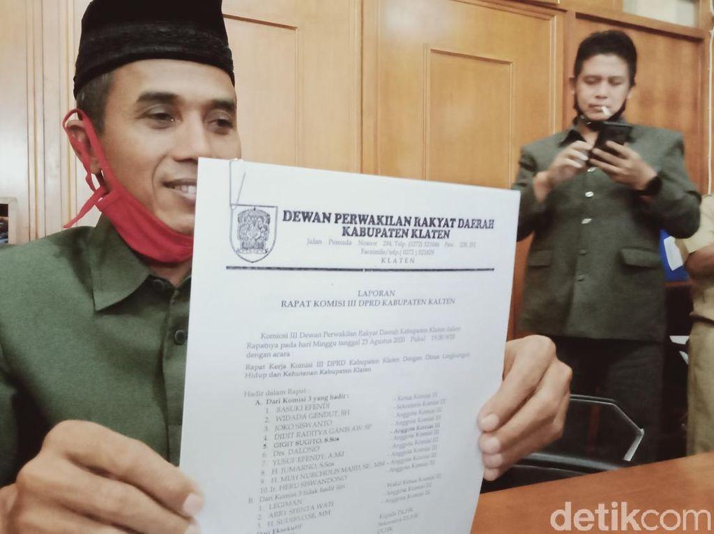 DPRD Klaten Dorong Penutupan Tambang Ilegal di Lereng Gunung Merapi
