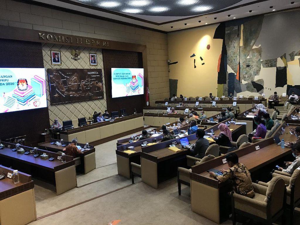 Komisi II-Kemendagri Setuju Perubahan PKPU dan Perbawaslu Pilkada 2020