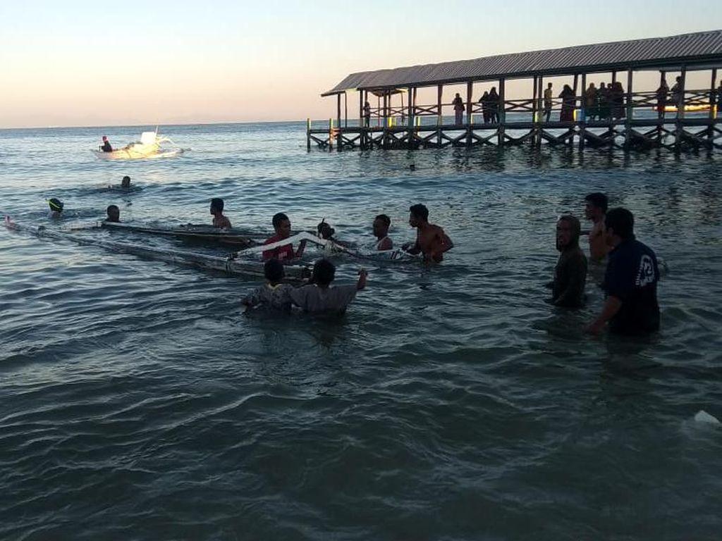 Protes Tambang Pasir Bikin 3 Nelayan Ditangkap dan Kapal Ditenggelamkan