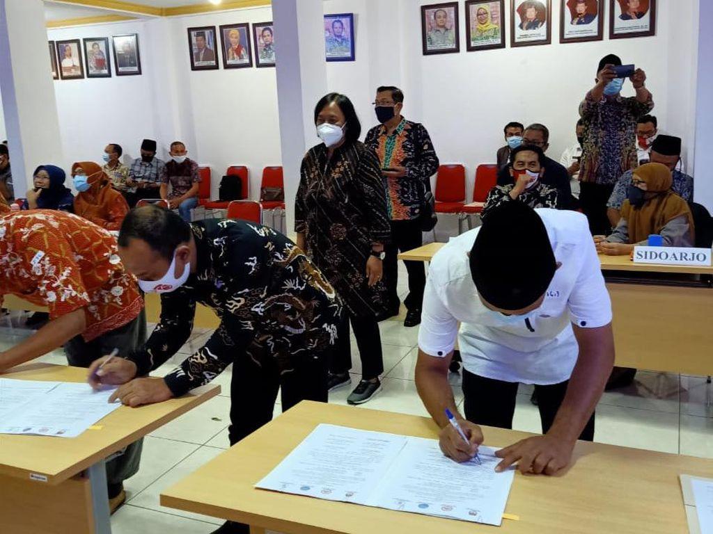 Pemeriksaan Kesehatan Bapaslon Pilbup Kabupaten Blitar di Malang