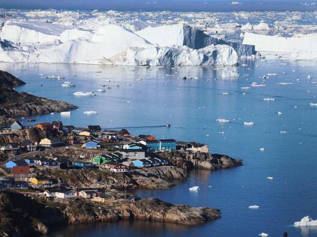Gawat! Es di Greenland-Antartika Mencair Makin Cepat