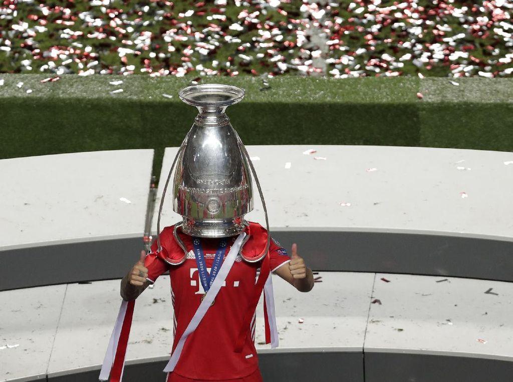 Aksi Konyol Lucas Hernandez Saat Bayern Juara Liga Champions