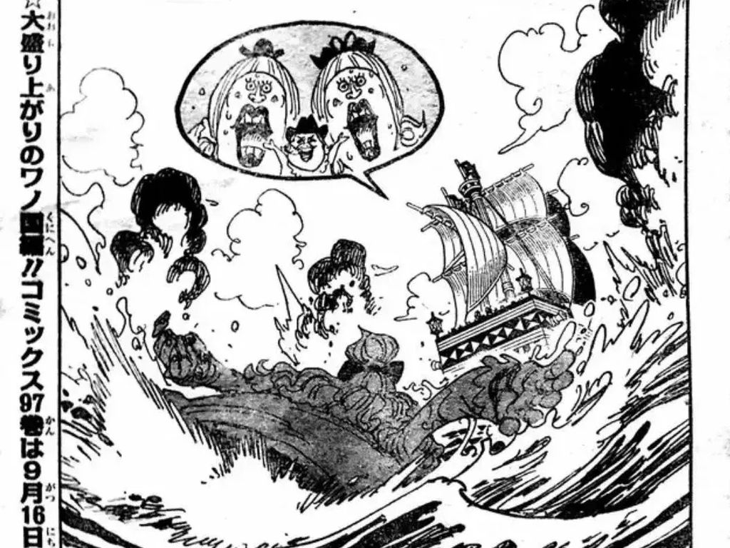 One Piece 988: Luffy vs Big Mom hingga Suku Mink vs Kaido