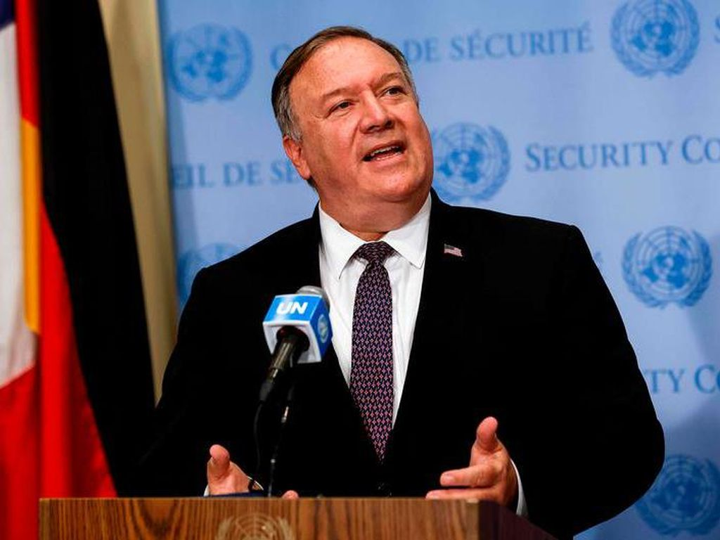 Menlu AS: Iran Akan Terima Konsekuensi Jika Tak Patuhi Sanksi PBB