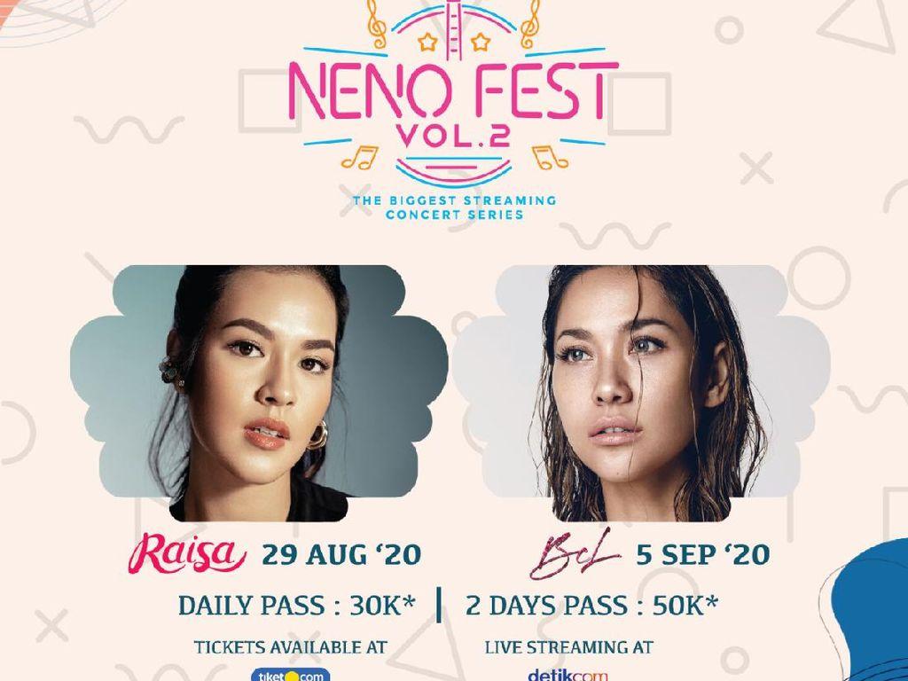 Yuk Nyanyi Bareng dengan Raisa dan BCL di Neno Fest Vol. 2