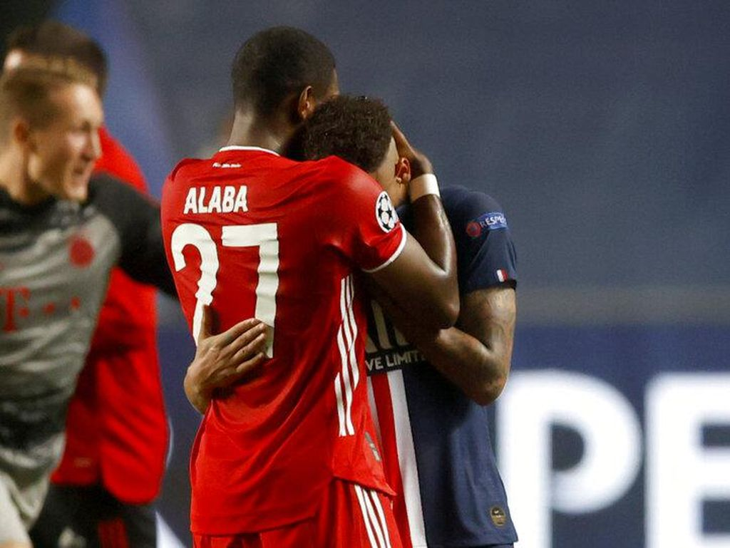 Dan Alaba Bilang, Neymar Jangan Menangis...