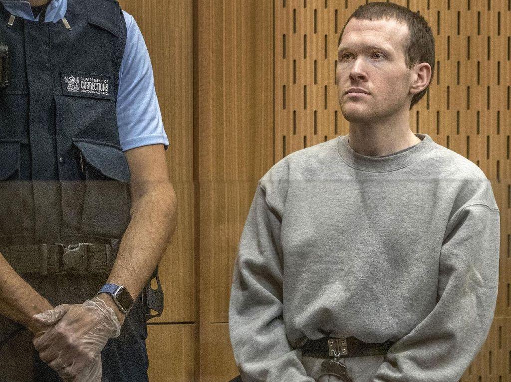 Pembantai 51 Muslim di Masjid Selandia Baru Dibui Seumur Hidup